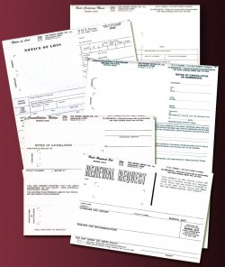 Time-saving Insurance Forms