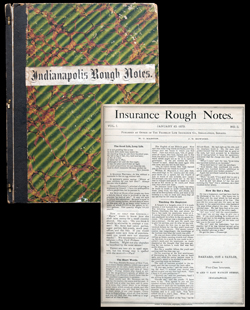 Bound issues of Rough Notes and Rough Notes from 1889