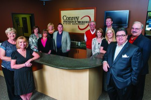 The Conrey Insurance Brokers & Risk Managers Team.