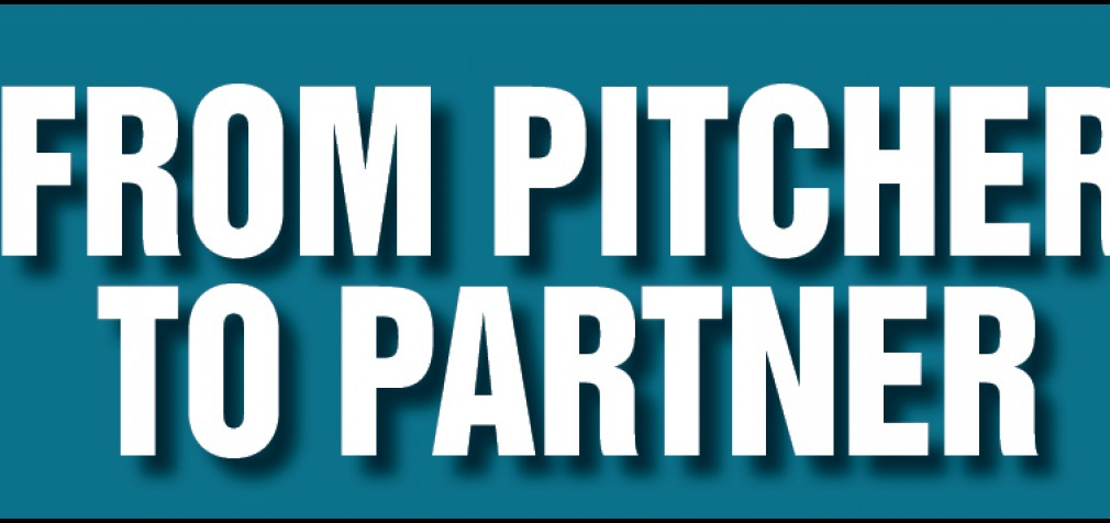 FROM PITCHER TO PARTNER