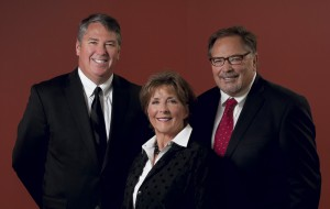 Founded in 1917 by Leslie L. Whims, the Whims Insurance Agency, Inc., has included four generations of family members, including current team members (left to right) Account Executive Lars Nordberg, Vice President Connie Klix Mercer, and President Tom Klix.