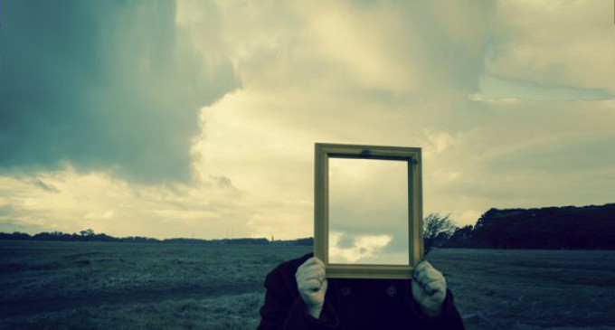 TAKE A GOOD LONG LOOK IN THE MIRROR