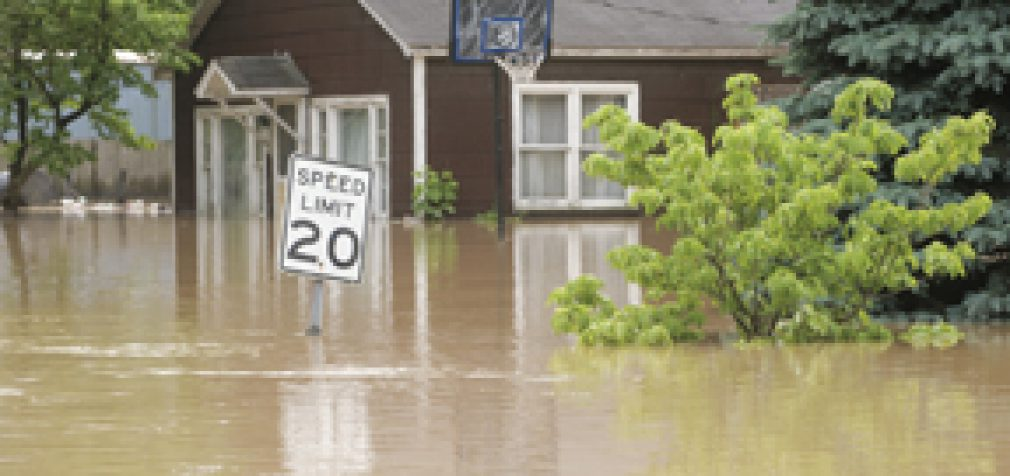 FOUR MYTHS ABOUT FLOOD INSURANCE