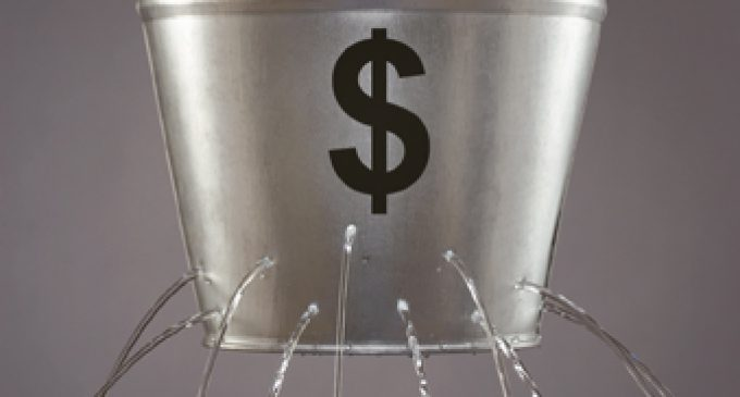 THE LEAKY BUCKET