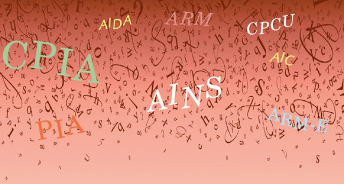 AAH, THE ACRONYMS:  A NEWBIE'S LOOK AT DESIGNATIONS