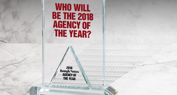 WHO WILL BE THE 2018 AGENCY OF THE YEAR?