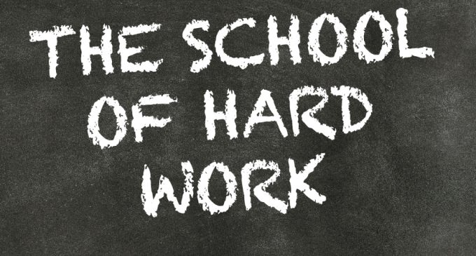 THE SCHOOL OF HARD WORK