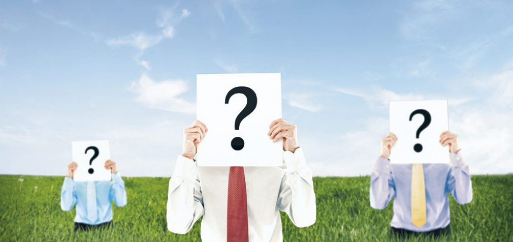 THE THREE QUESTIONS EVERYONE IS ASKING ABOUT YOU