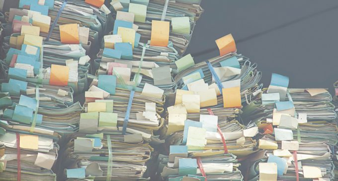 THE RISKS OF PAPER RECORDS